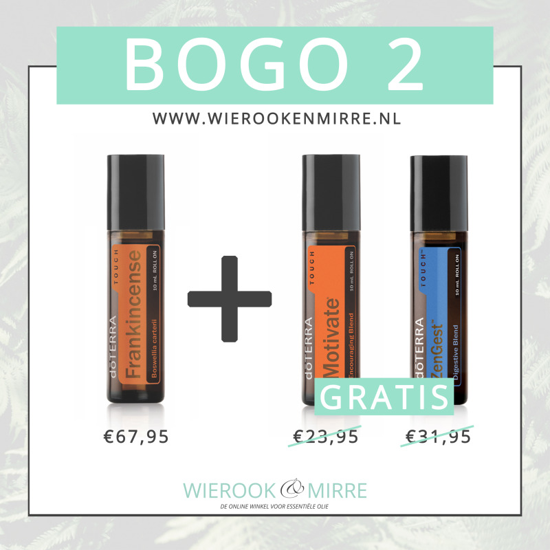 BOGO 2: Frankincense Touch + Motivate Touch & ZenGest Touch