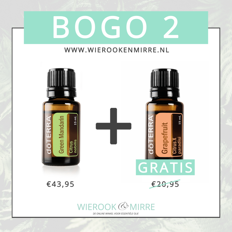 BOGO 2: Green Mandarin + Grapefruit
