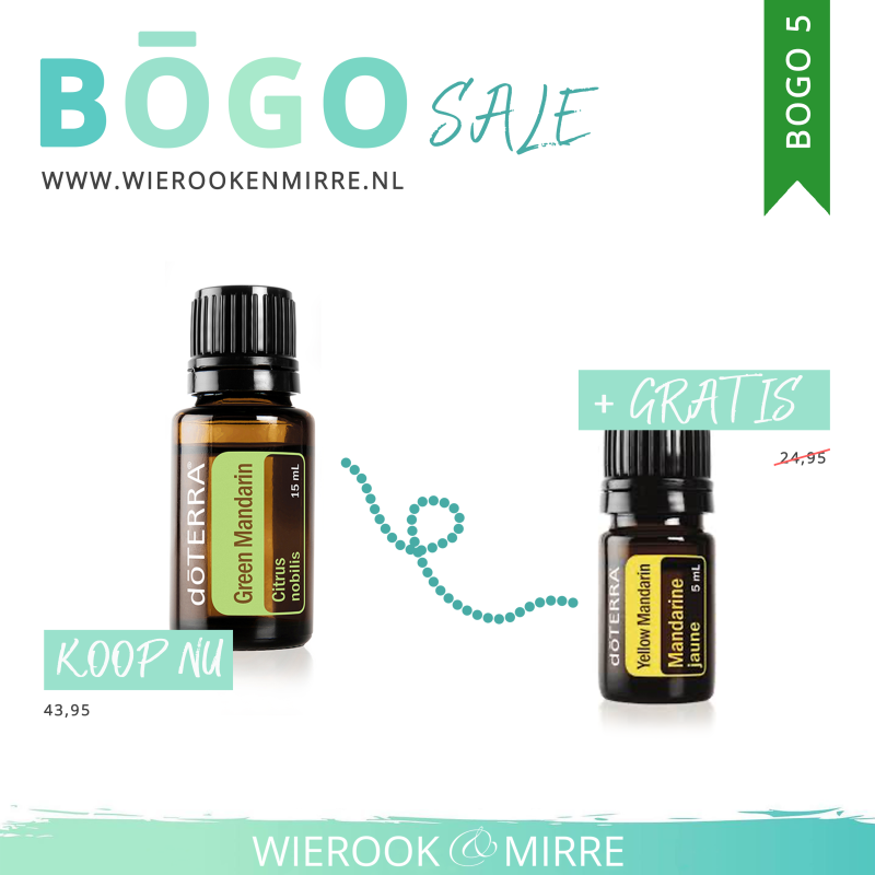 BOGO 5: Green Mandarin + Yellow Mandarin