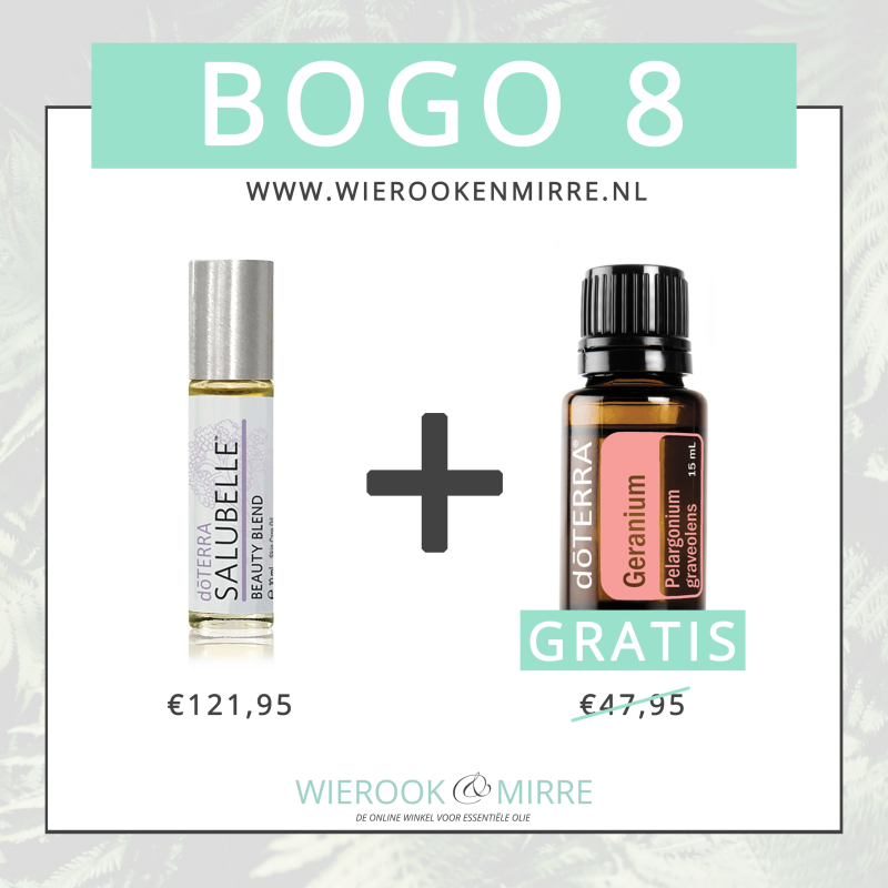 BOGO 8: Salubelle Roll-On + Geranium