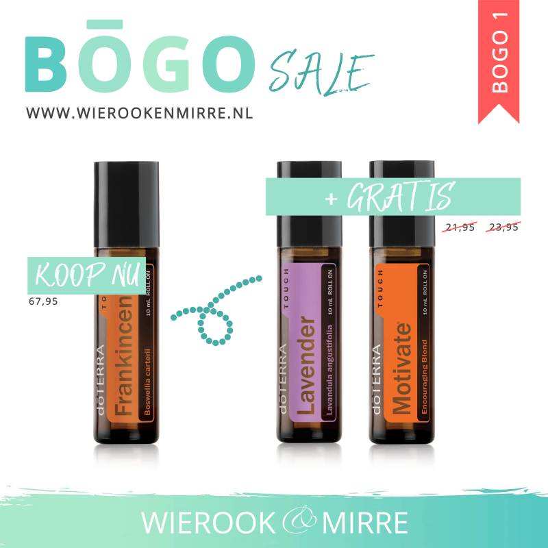 BOGO 1: Frankincense Touch + Lavender Touch & Motivate Touch