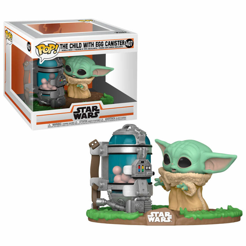 The Child with Egg Canister   Funko POP 407