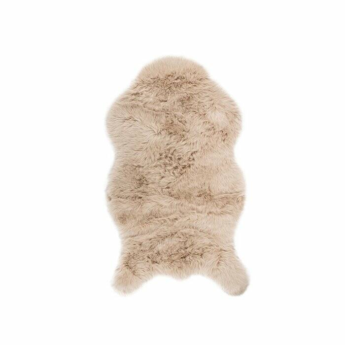 Schapenvacht (faux fur) naturel 80x150