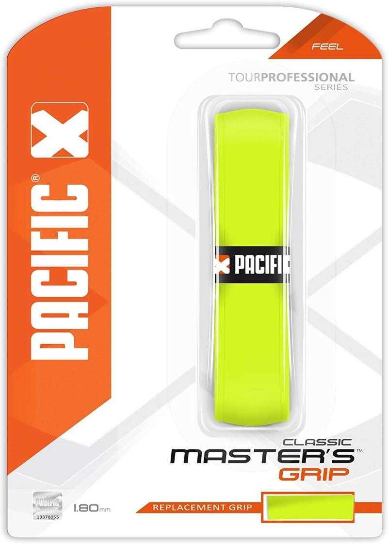 Pacific Master's Grip Classic Basisgrip Neon Geel