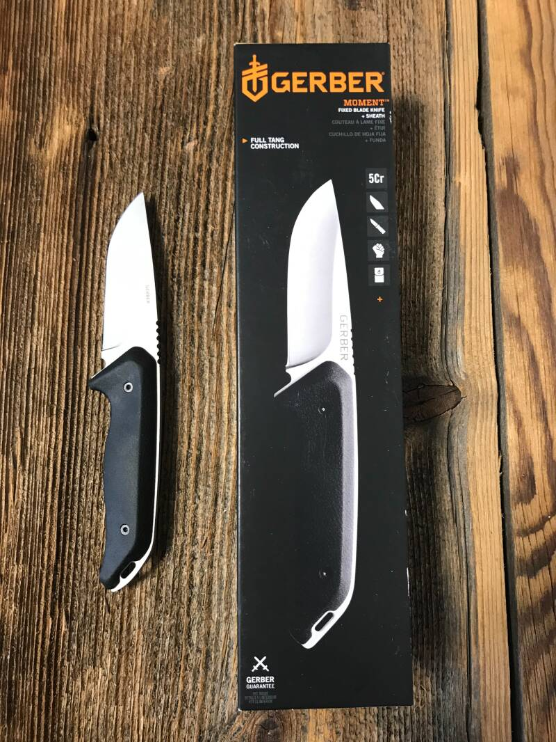 Gerber - Moment Fixed, Large, Drop point