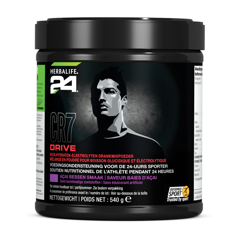 CR7 Drive Bus açai bessen smaak 20 porties 540 gr