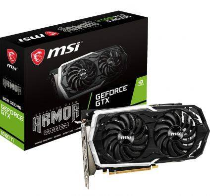 MSI Geforce GTX 1660 Ti Armor 6GB OC