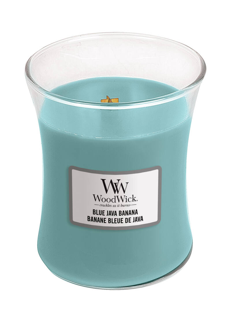 SUMMER 2020 Woodwick MEDIUM Blue Java Banana