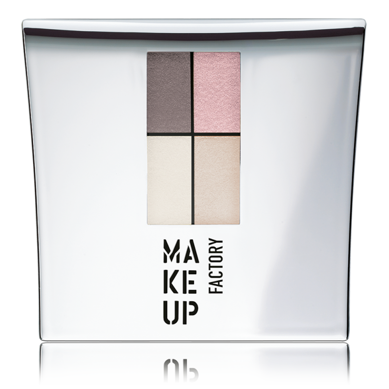 MUF Eyeshadow colors- Nude meets pink