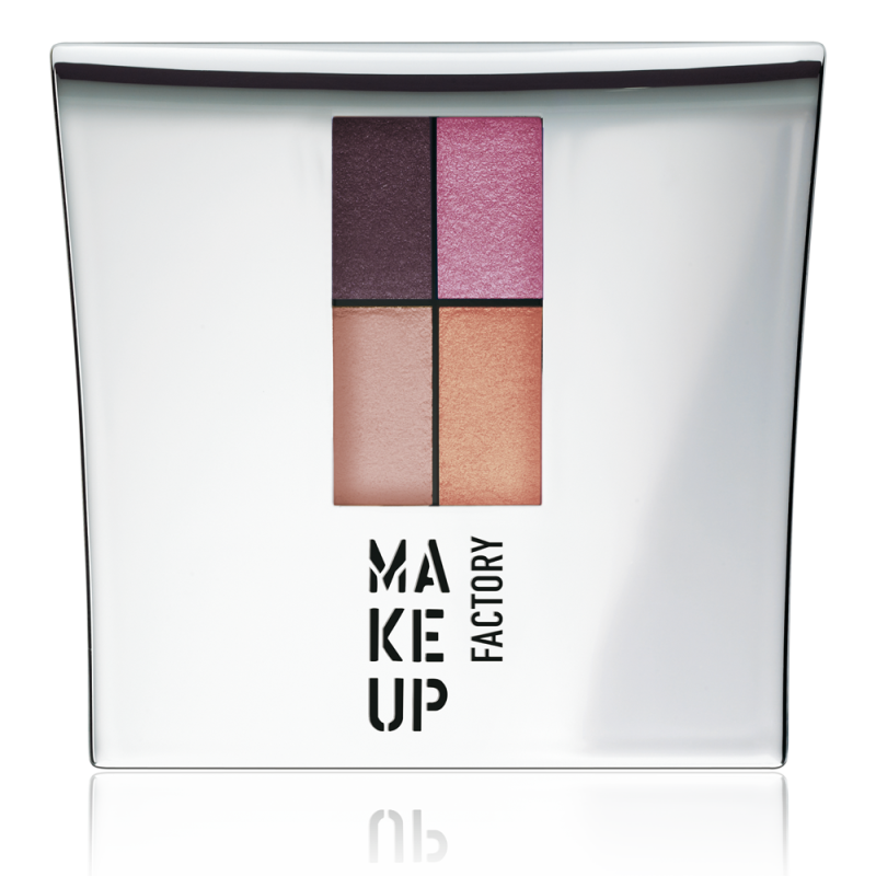 MUF Eyeshadow colors - Pink meets Orange