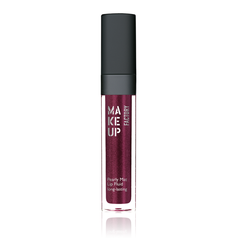 Pearly mat lip fluid - Stainless burgundy (52)