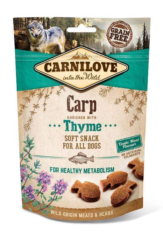 Soft Snack Carp with Thyme 200g