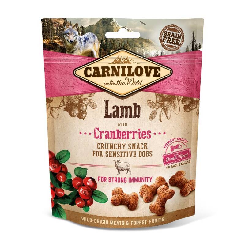 Crunchy Snack Lamb with Cranberries 200g