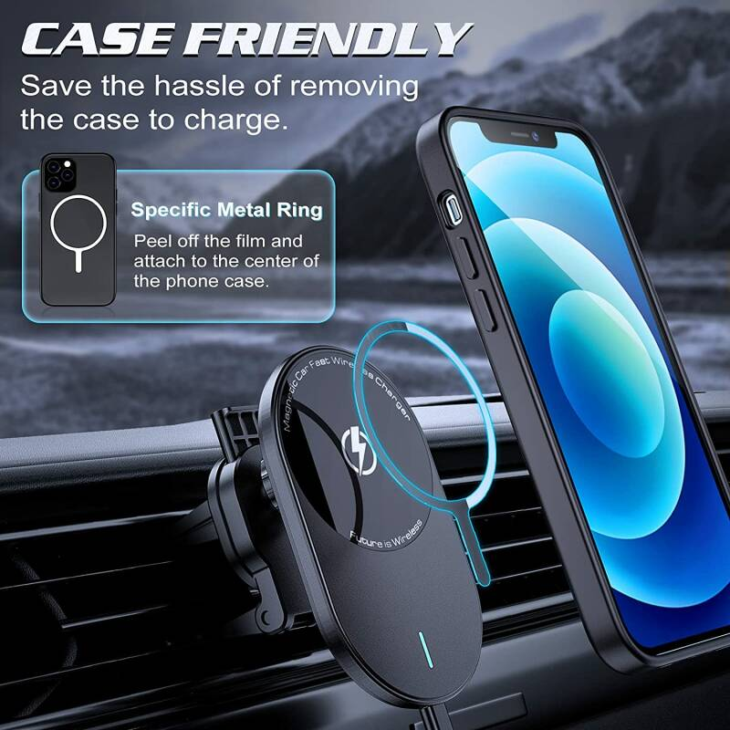 Wireless car charger 15W - TYPE 3 -