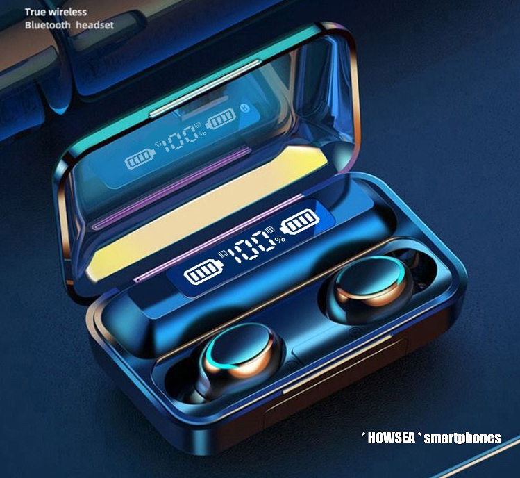 Earbuds | wireless | Touch control | 2.200 mAh