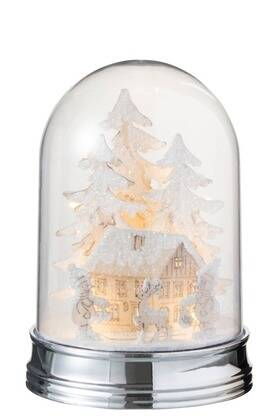 Stolp Winter Bomen + Huis + Figuren Led