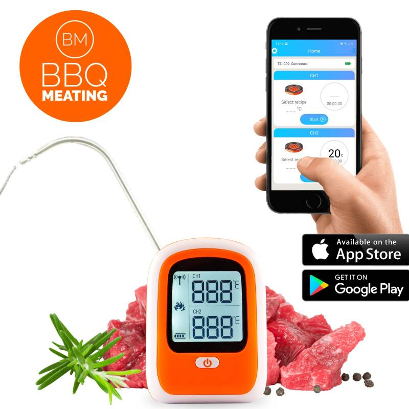 BBQ MEATING - VLEES THERMOMETER