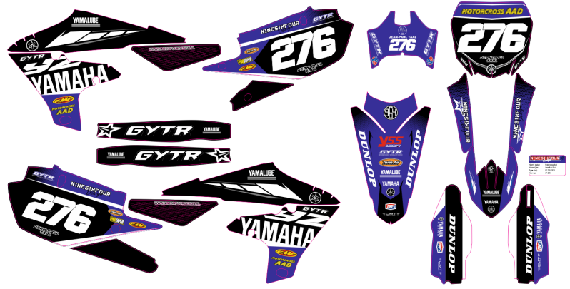 Stickerkit 250/450cc