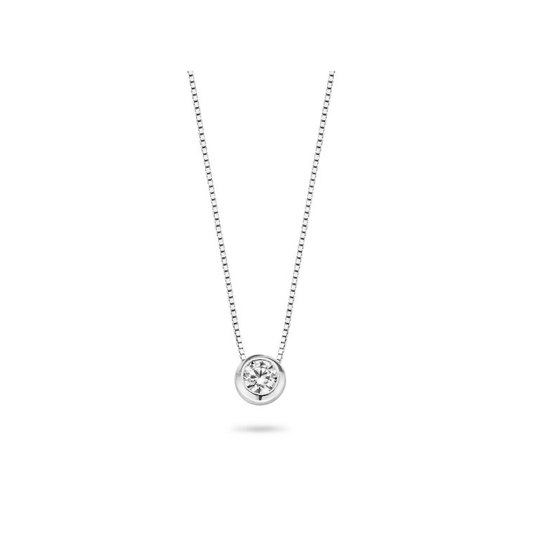 LA MER SMALL ZILVER CL   Casa Jewerly necklaces