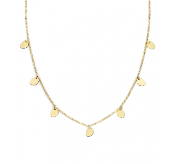 LA MER SMALL ZILVER CL | Casa Jewerly necklaces