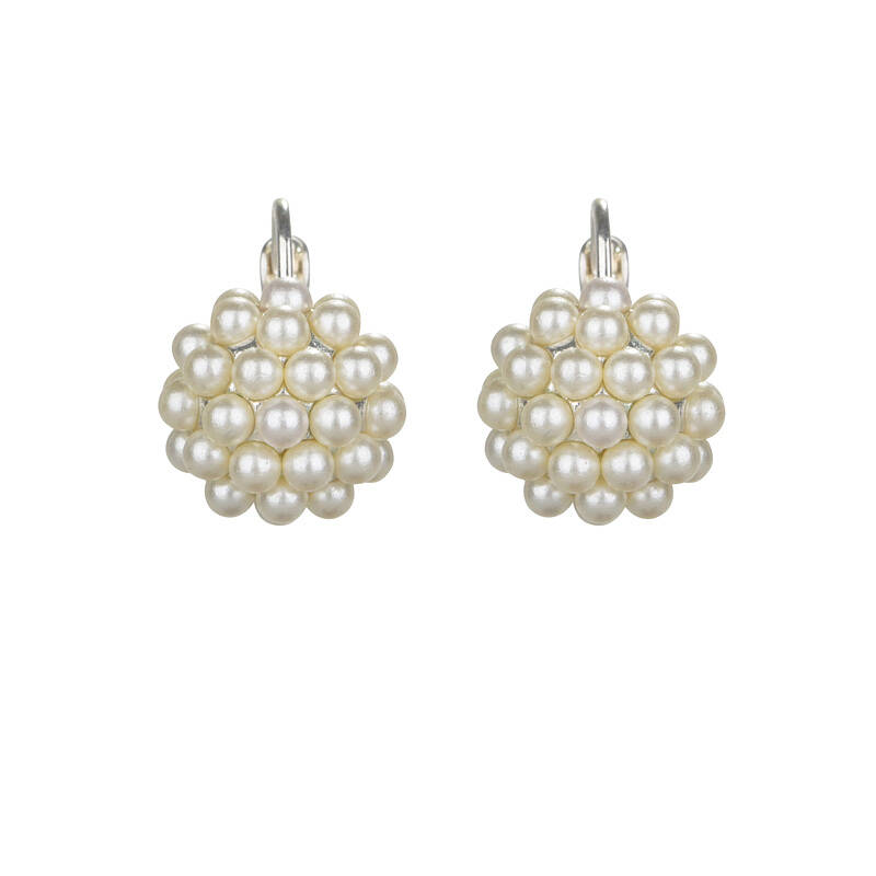 Little pearly bunch dormeuses | Camps & Camps earring