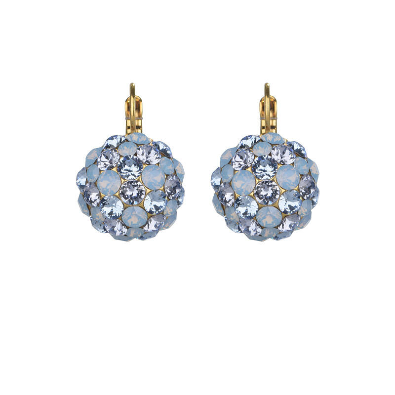 Air opal sparkly bunch dormeuses | Camps & Camps earring