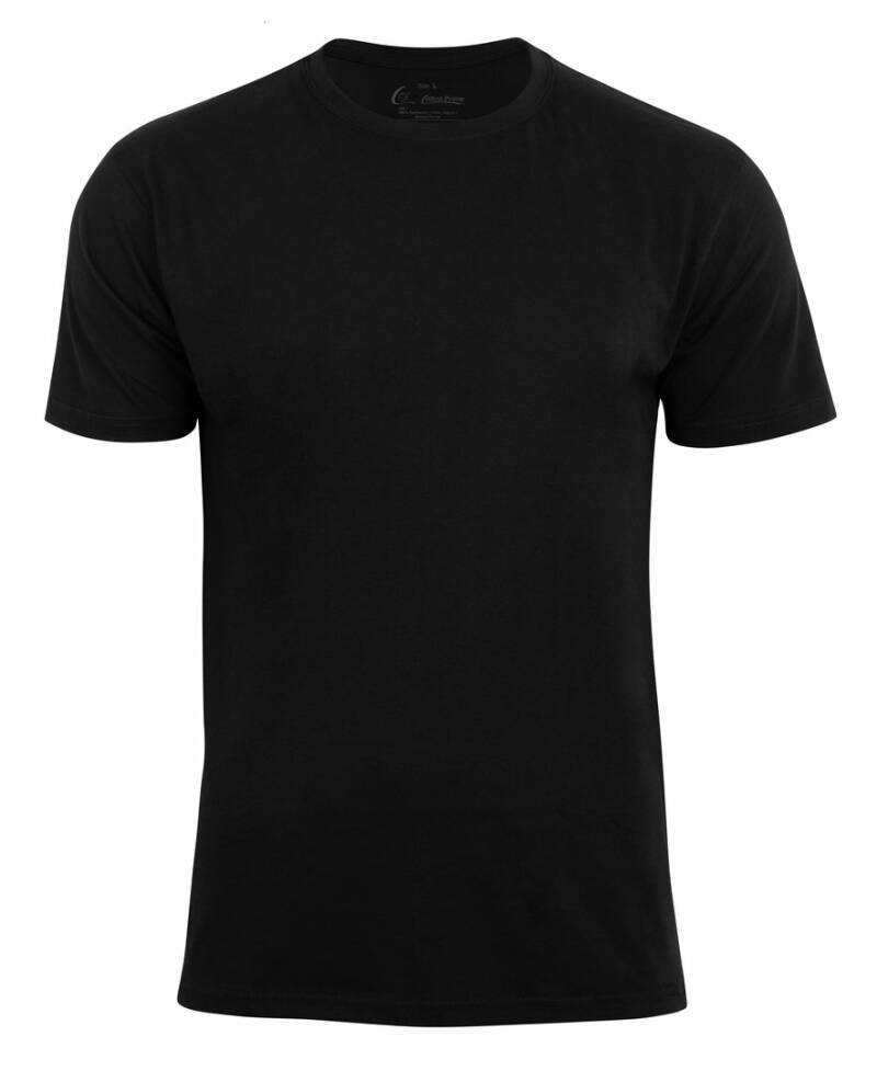Herren Basic  T-Shirt, gekämmte Baumwolle, 140 g/m² Single Jersey