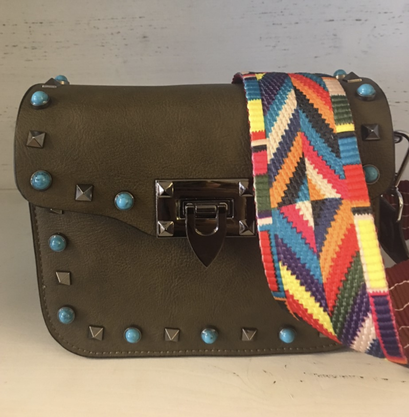 FESTIVAL BAG REAL LEATHER