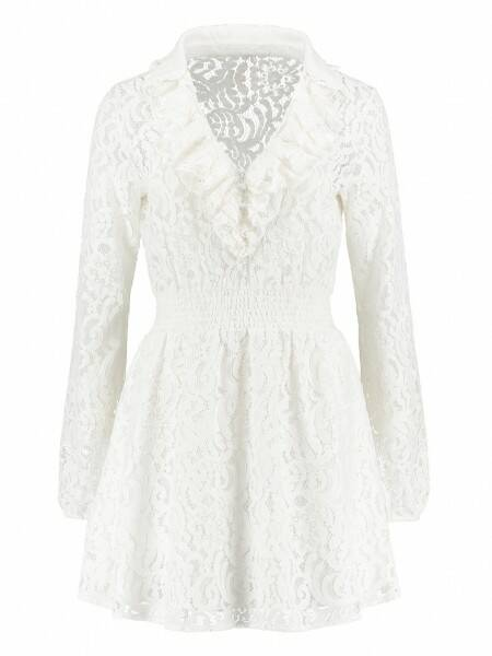 Sacha Dress White - NIKKIE