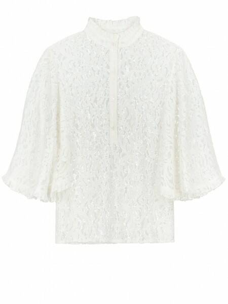 Serena Lace Top White - NIKKIE