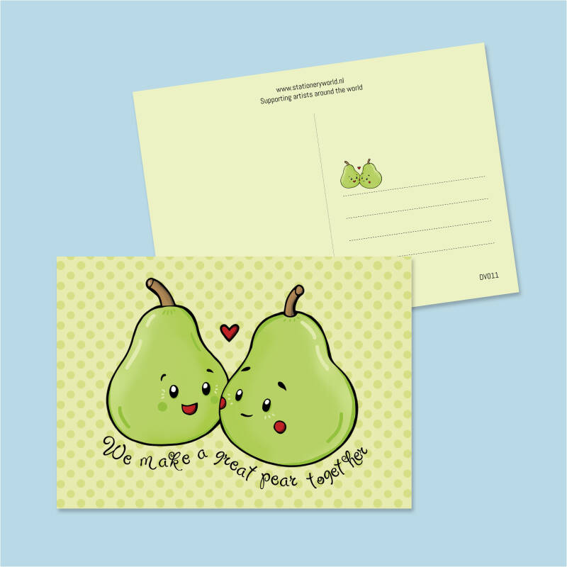 We make a great pear (DV011)