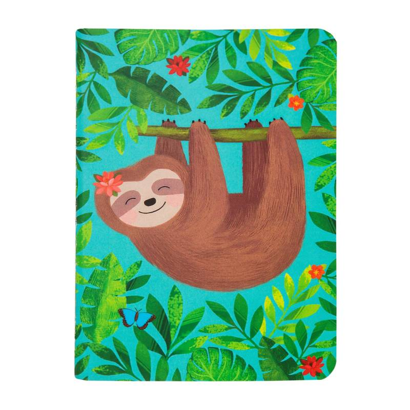Sass & Belle Sloth and Friends Pocket Notebook