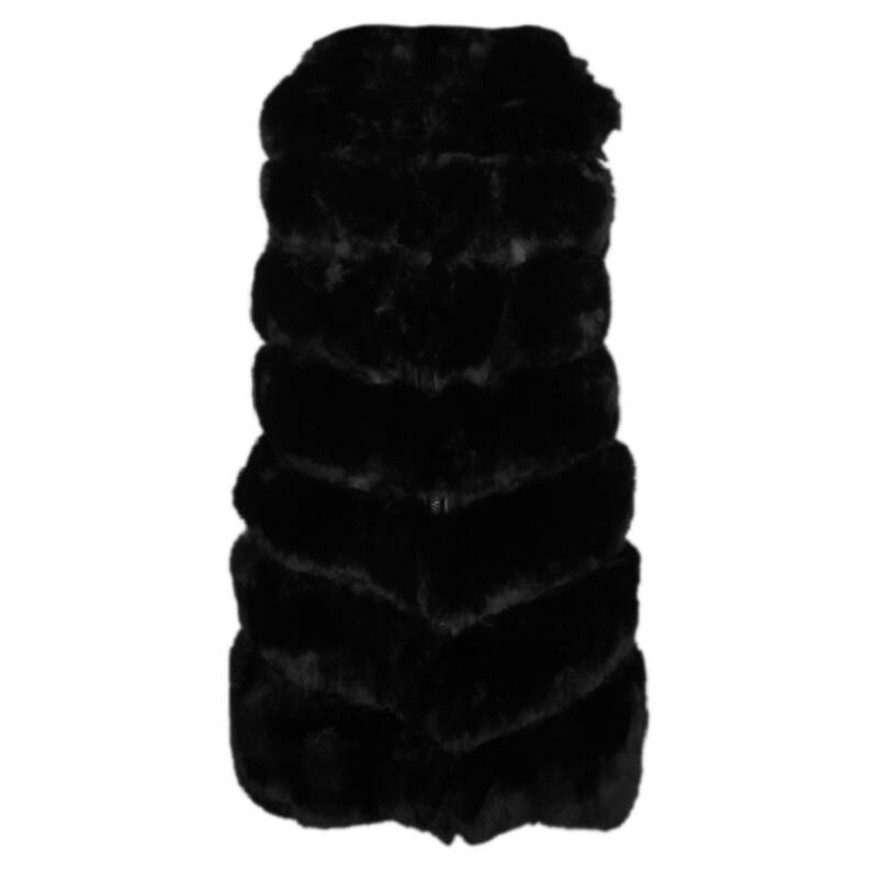 FAKE FUR GILET DIANA