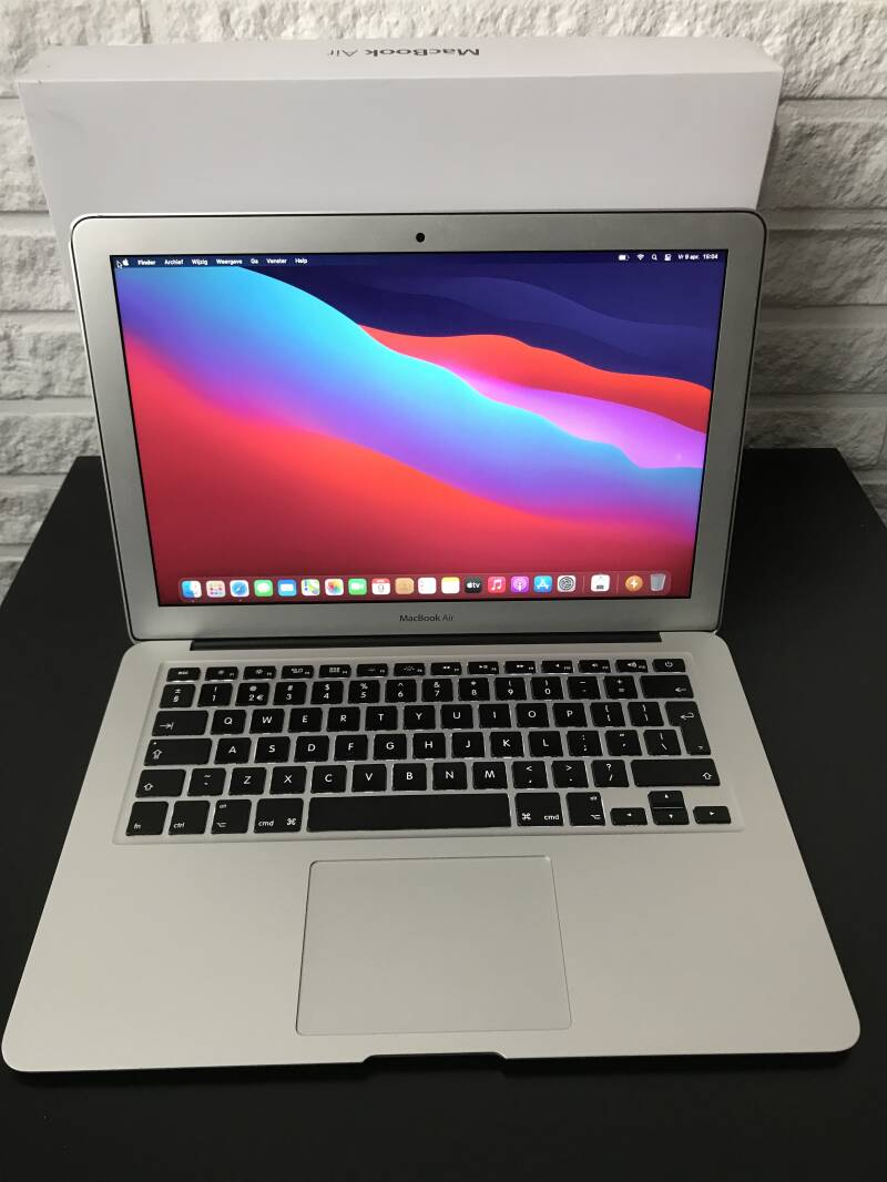 Apple macbook air 13 inch core i5 4GB 128GB SSD refurbished ✔uit 2014  Conditie⭐⭐⭐⭐