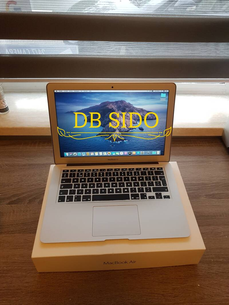 Apple macbook air 13 inch core i5 8GB 128GB SSD  refurbished ✔2016
