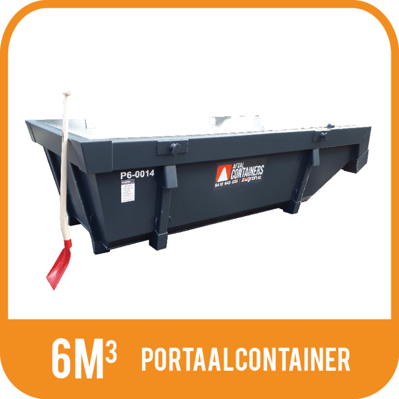 Portaalcontainer 6m³