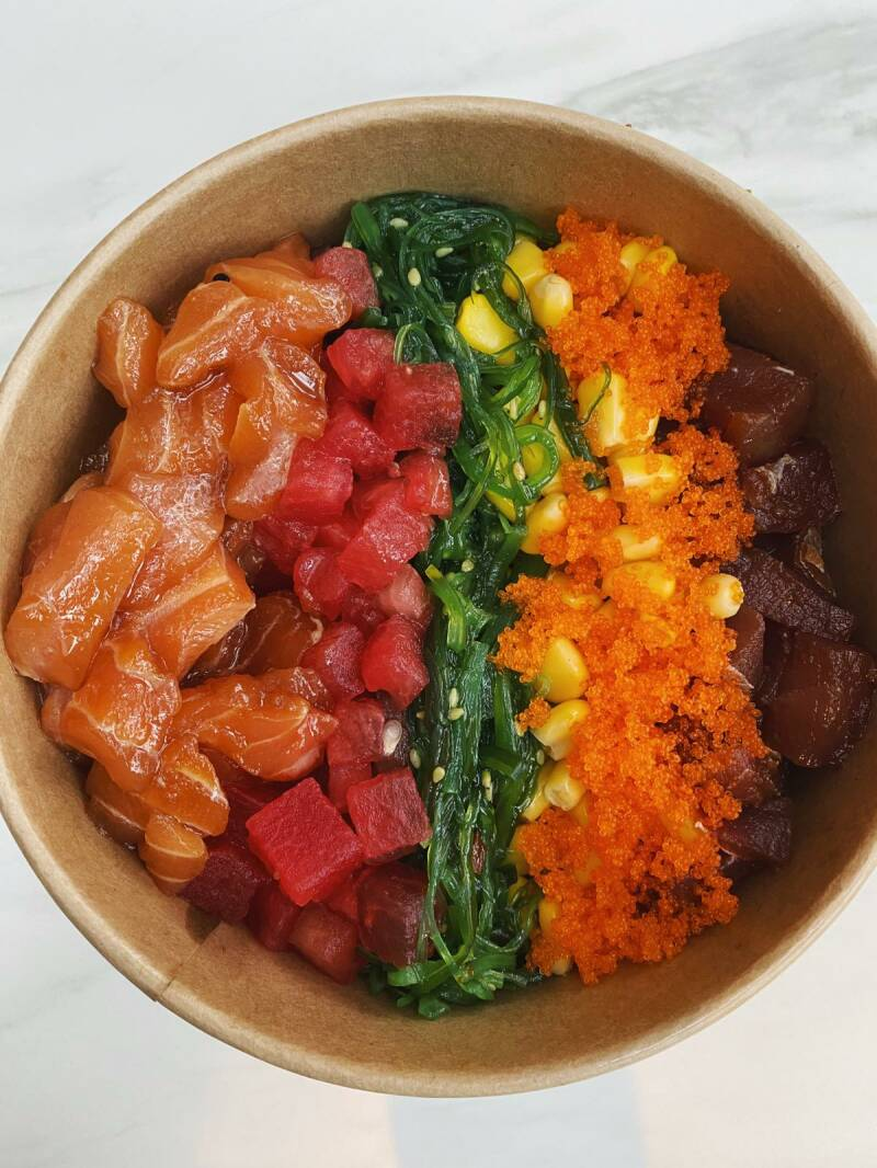 Poké Bowl Aho Rainbow