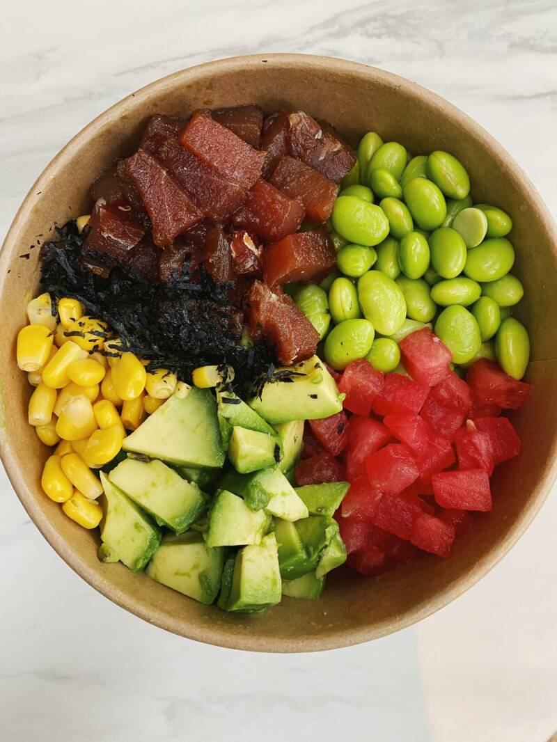 Poké Bowl Holy Tuna (Spicy)