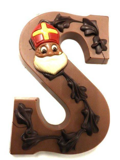 Chocolade letters melk      A t/m Z