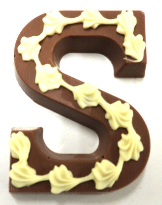 Chocolade letters A t/m Z   200GRAM