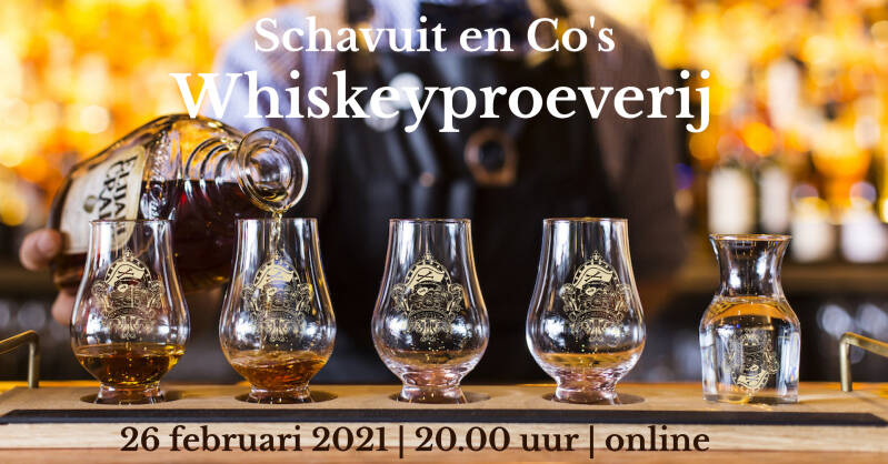 Whiskeyproeverij 26-02-2021