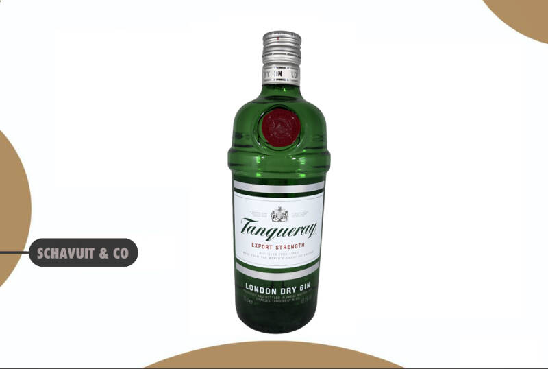 Tanqueray Dry Gin Export