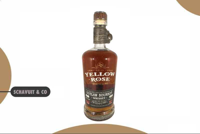 Yellow Rose Outlaw straight Bourbon