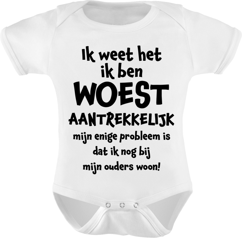 Rompertje woest