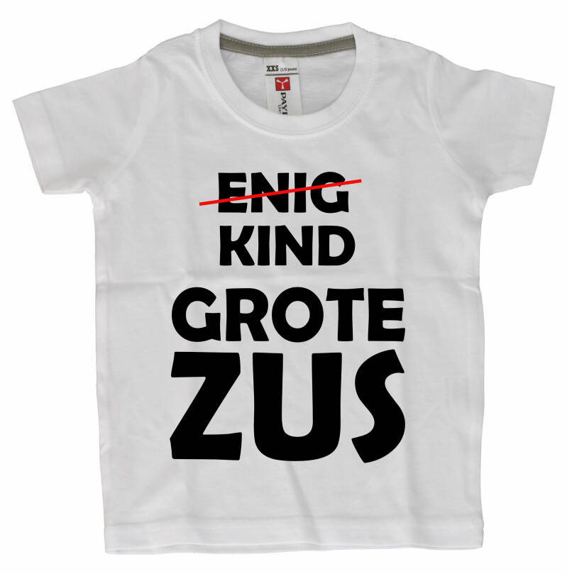 Dreumes/Baby T-shirts  Grote zus