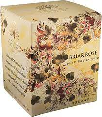 English soap candle briar rose