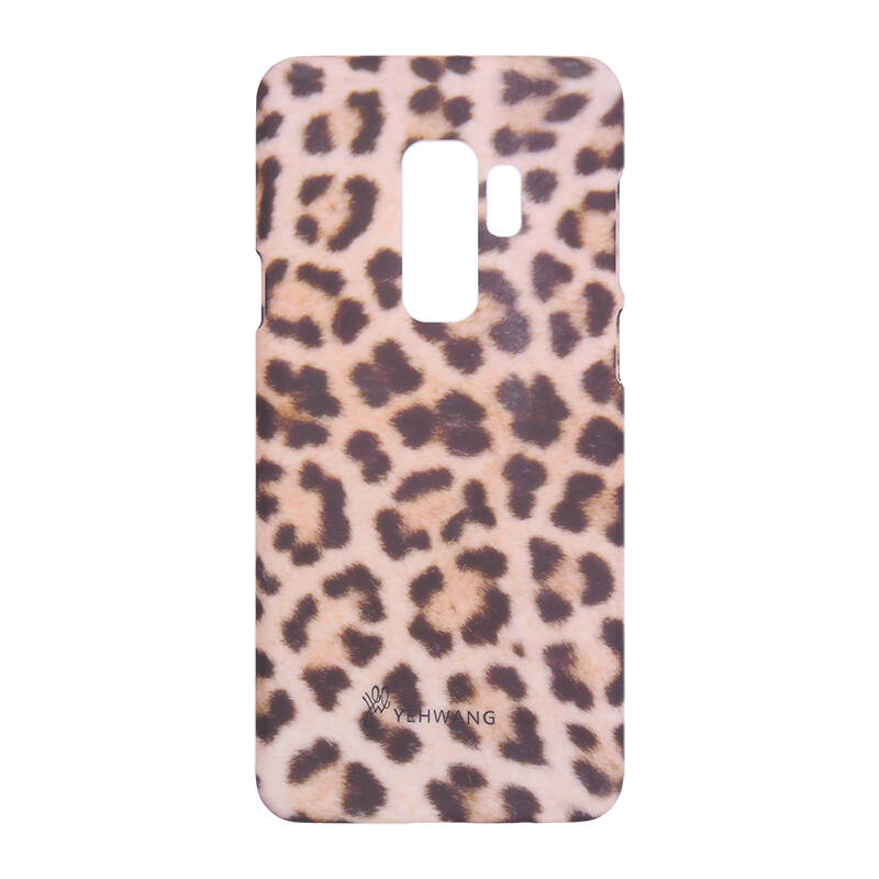 Telefoonhoesjes - Wild Animal Brown Samsung