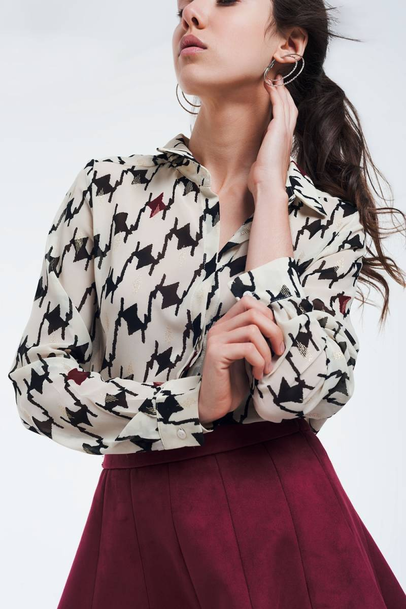 Blouses - Chic Stoer Wit