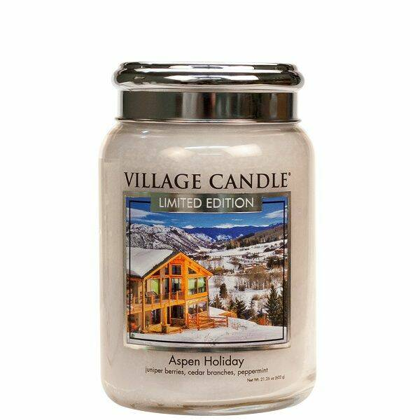 Aspen Holiday Large Candle