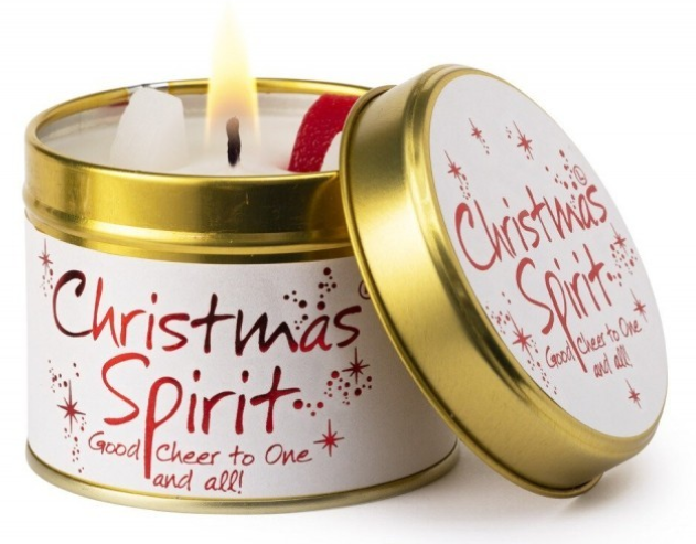 Christmas Spirit Tin - Good Cheer To One And All